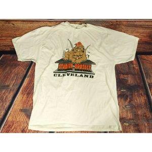 Vintage Hanes Beefy Cleveland Stadium T-Shirt XL
